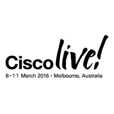 Cisco Live Melbourne 2016