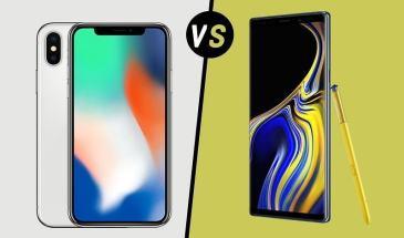 So sánh cấu hình giữa Note 9 và S9 Plus, iPhone X, OnePlus 6