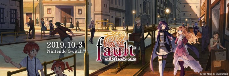Fault Milestone One is Coming to NINTENDO SWITCH October 3rd!