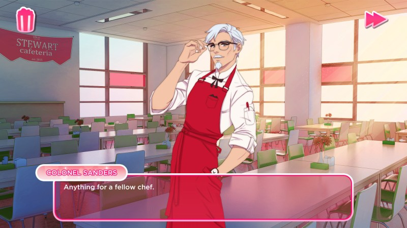 A Quick Thought About -Sigh- I Love You, Colonel Sanders