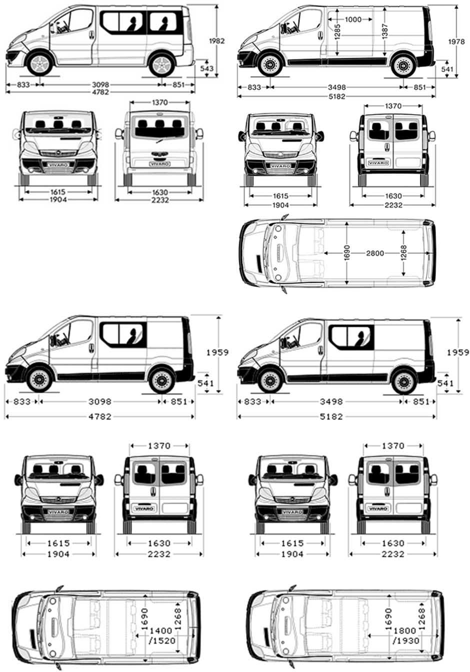 Dimensions Trafic Renault. renault trafic 2014 dimensions