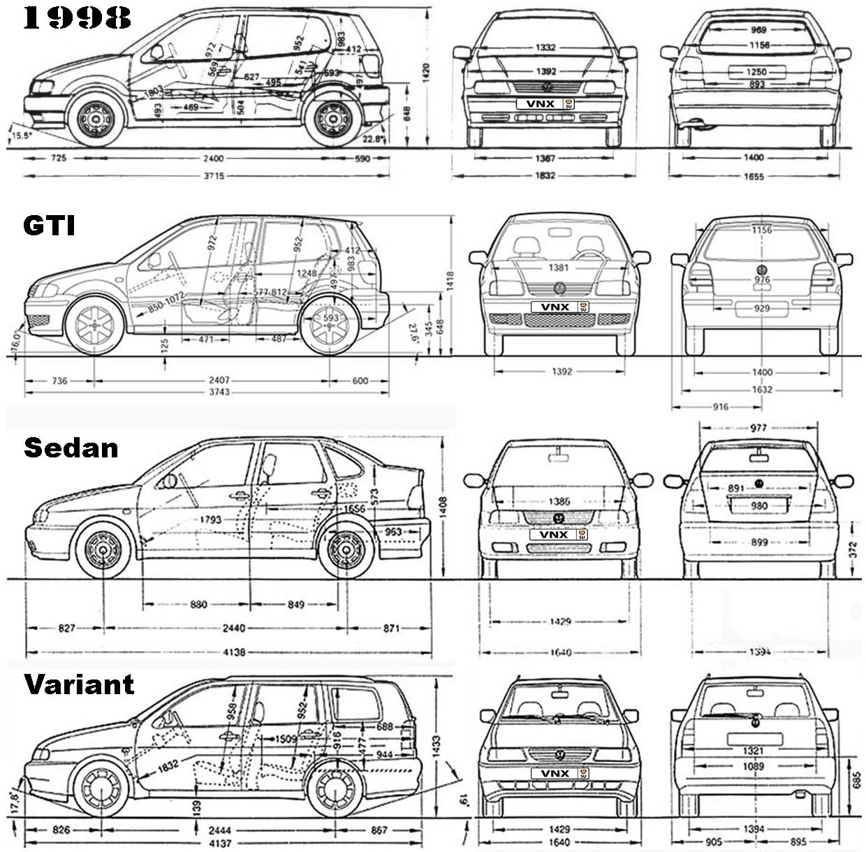 VW Polo 1994-1999 Service and Repair Manual