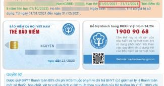 Cách tra cứu Bảo hiểm y tế trên thẻ Căn cước công dân cực kỳ tiện lợi cho bạn mỗi khi cần lấy thông tin