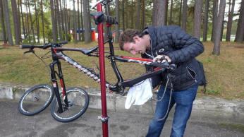 Paddy toimetas ratta kallal ca paar tundi enne, kui kõik ilus sai.