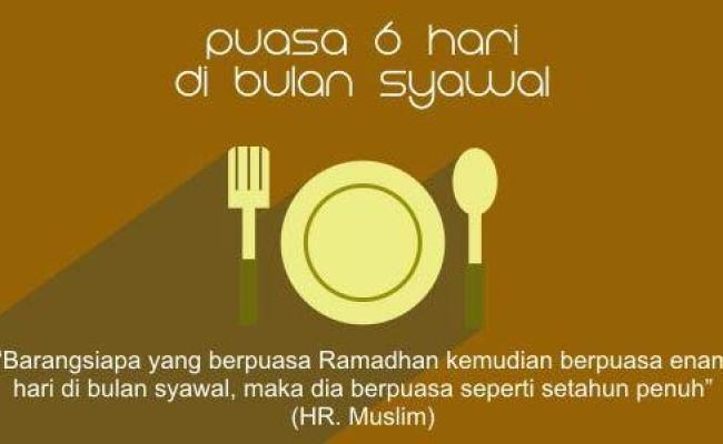 Mengakhirkan Puasa Enam Hari Syawal Voa Islam Com