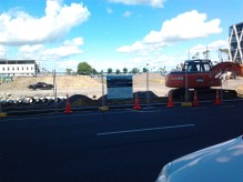 Site of the Manukau Interchange. The nexus point of the entire South Auckland Bus Network