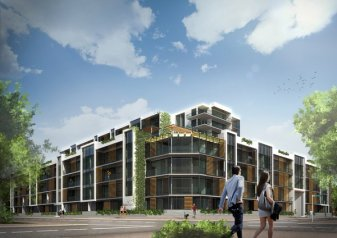 Concepts of the Milford apartments as part of a mixed use development. Source: Transport Blog