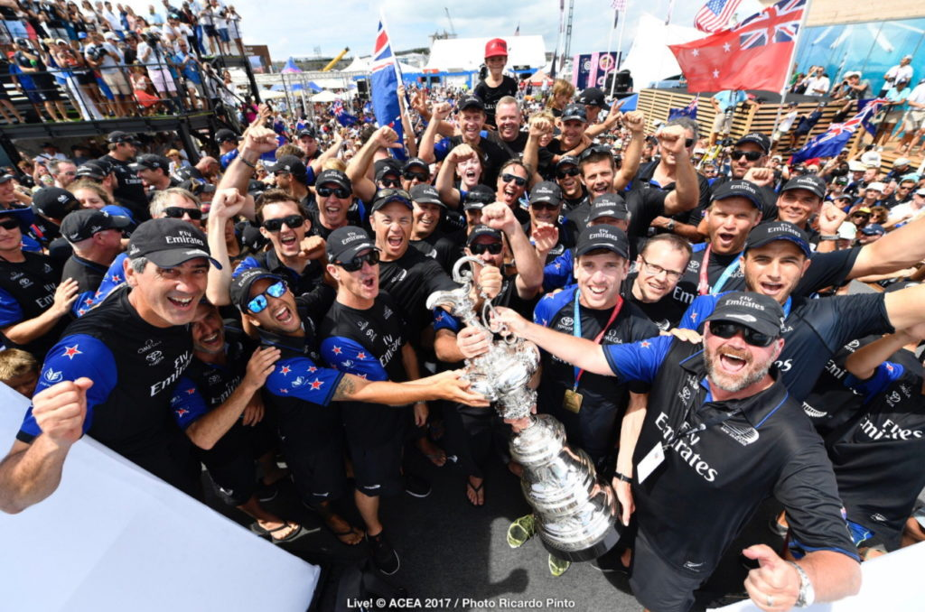 Mega Read: America's Cup Defence = Infrastructure Build Now Like Airport Lines!
