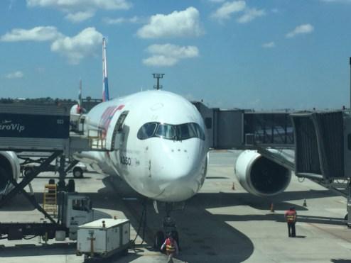 A350 - Visão Frontal - GRU