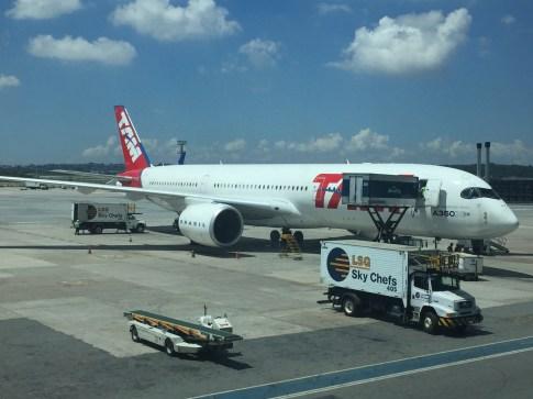 A350 - Visão Lateral - GRU