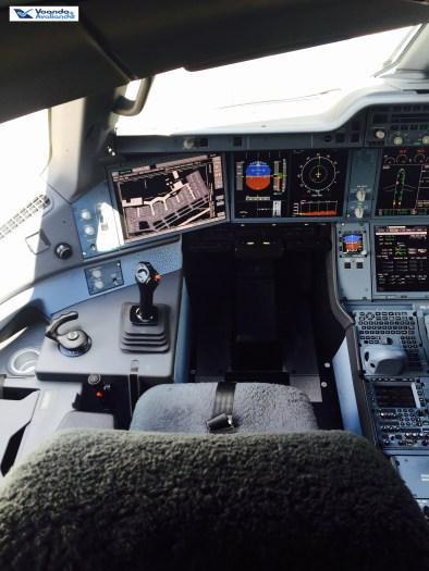Cabine - Assento Piloto