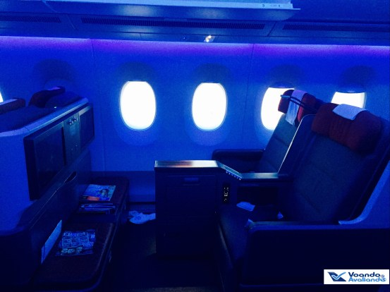A350 - Assento Business - Lateral