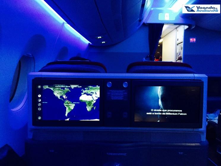 A350 - Cabine - Detalhe - Noite
