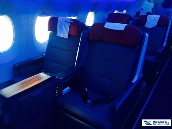 A350 - Assento Business - Frente