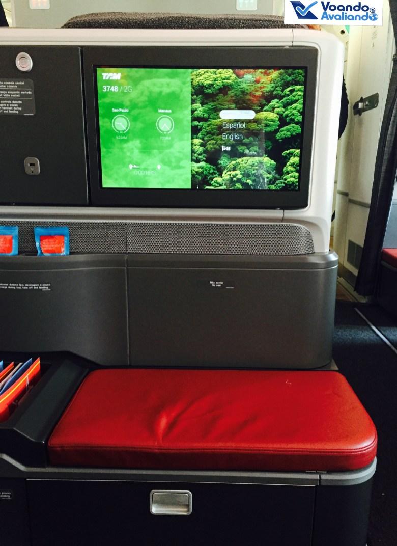 A350 - Assento - Encosto de Pés