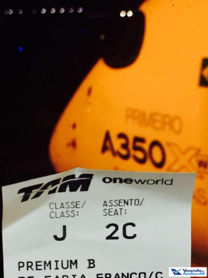 Boarding Pass - A350