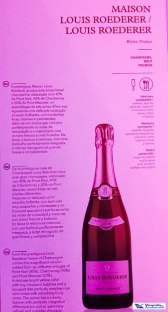 Menu - Champagne - Executiva