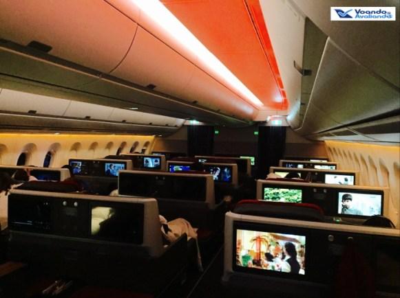 Visão Lateral - Executiva - A350