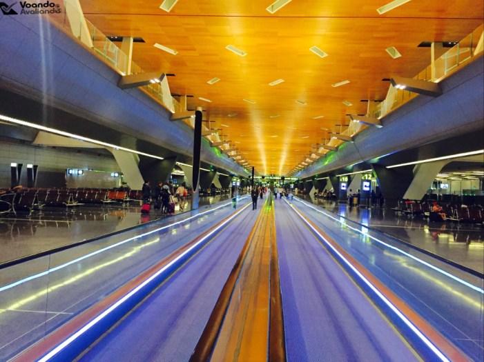Aeroporto Doha - Escadas Rolantes