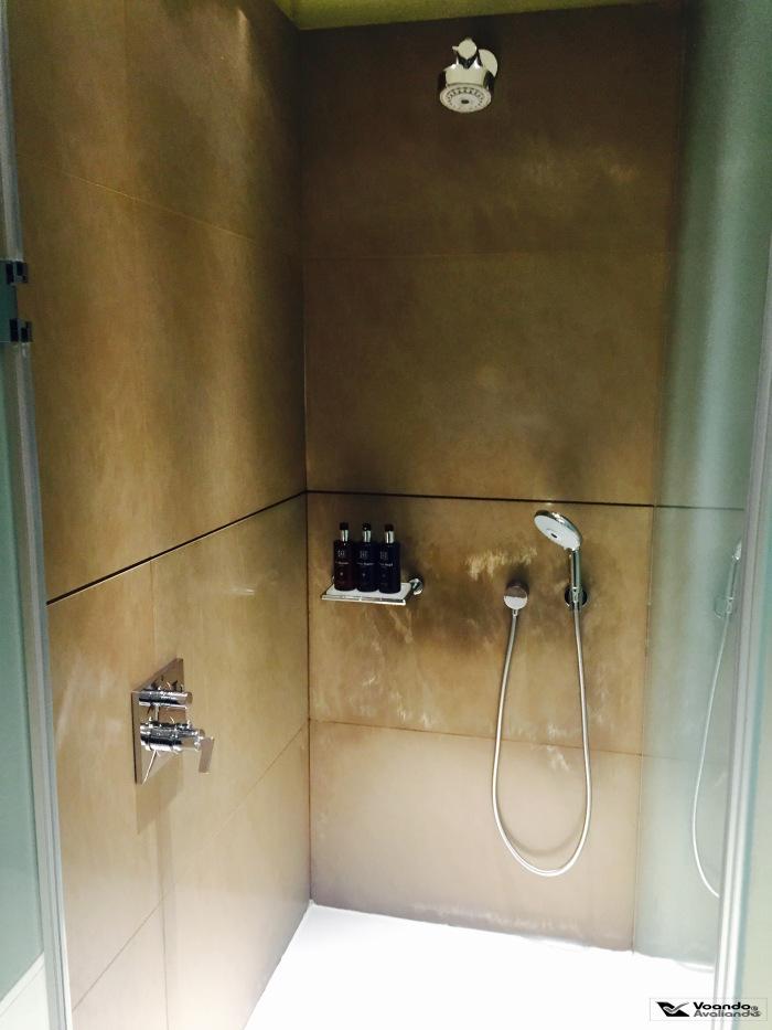 Sala VIP Qatar - Chuveiro