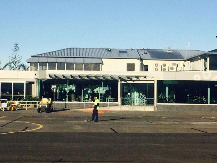Aeroporto NPE - Prédio