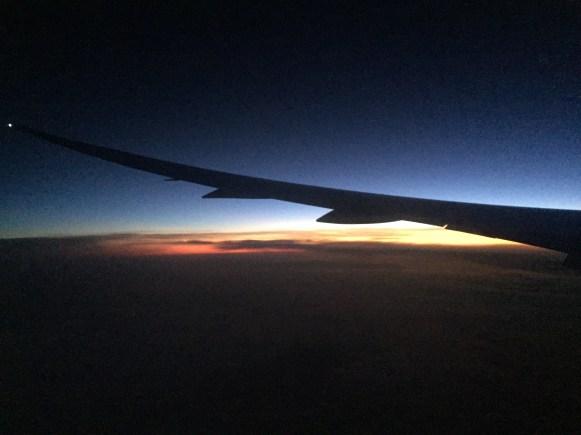Nascer do sol - escuro