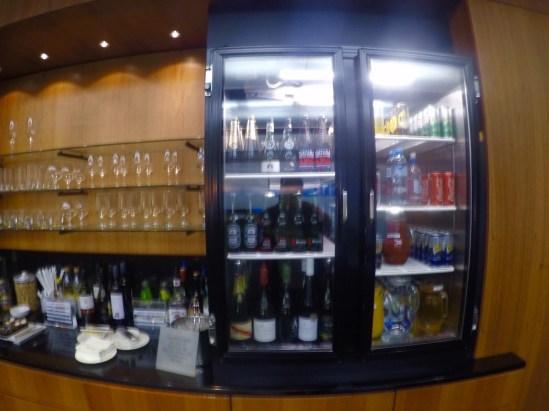 Sala VIP - Qantas - Geladeira