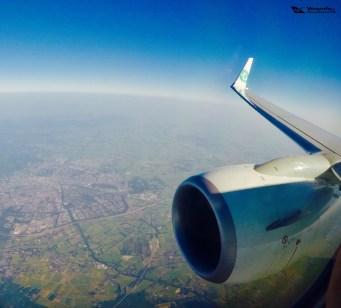 Cauda e Turbina - Transavia 1