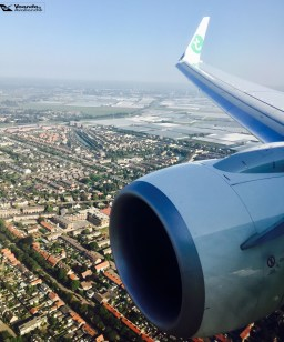Cauda e Turbina - Transavia 3