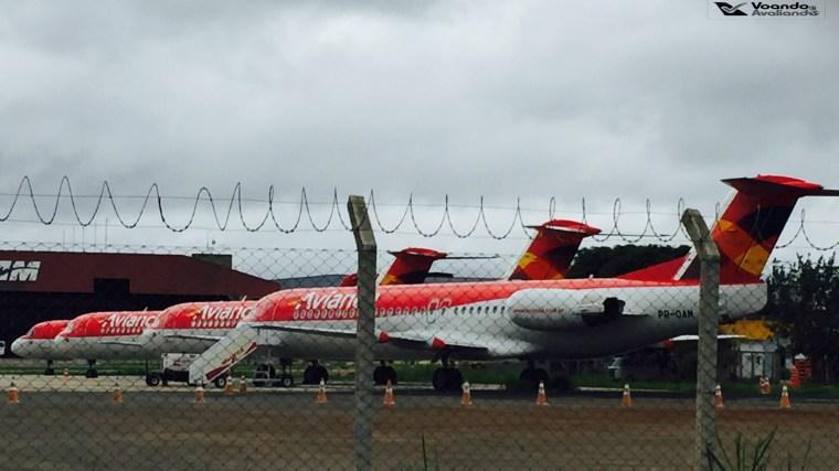 Fokker 100 - Avianca - BSB