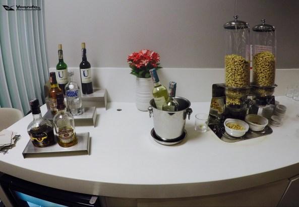 Bebidas - Snacks - Sala VIP Avianca
