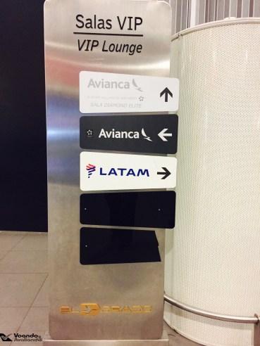 Sinalização - Salas VIP - Bogotá