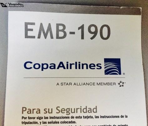 Cartão de Segurança - E190 - Copa
