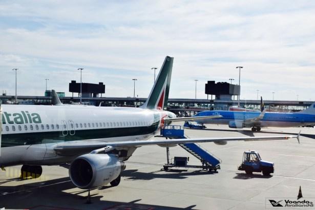 A320 - Alitalia - AMS