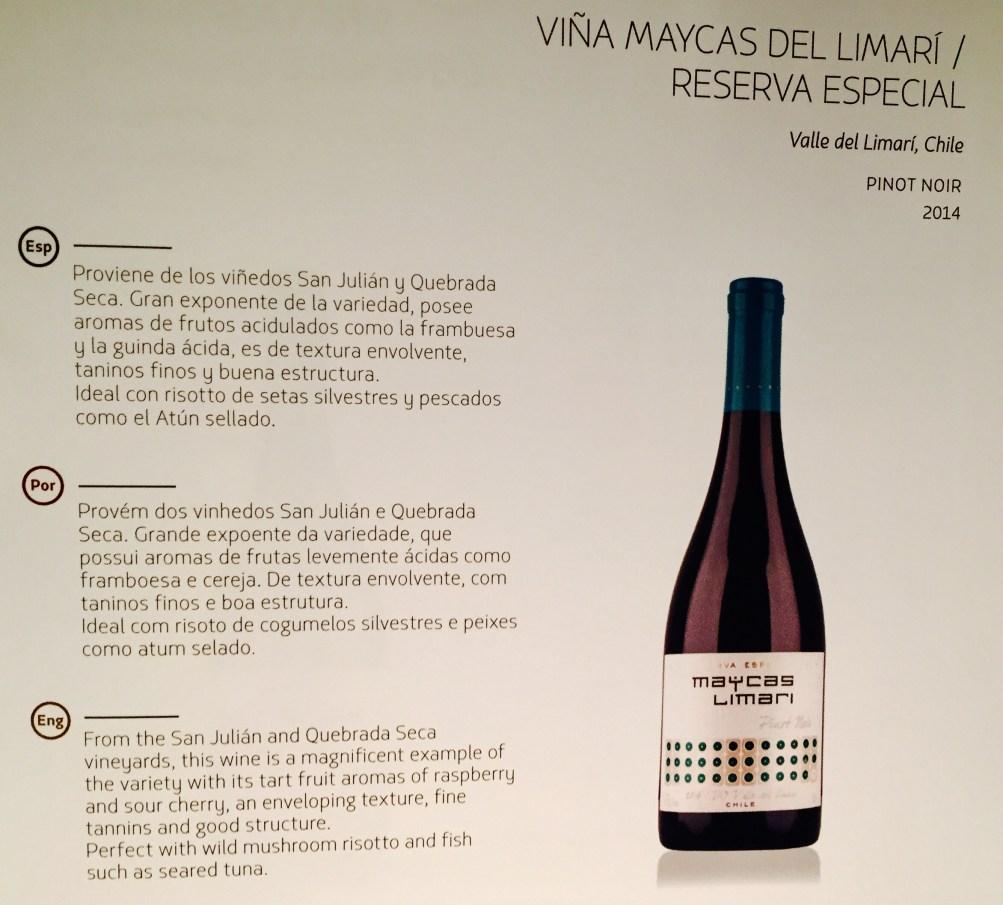 Pinot Noir - LATAM - GRU-BCN