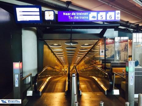 Saída Trem - Aeroporto AMS