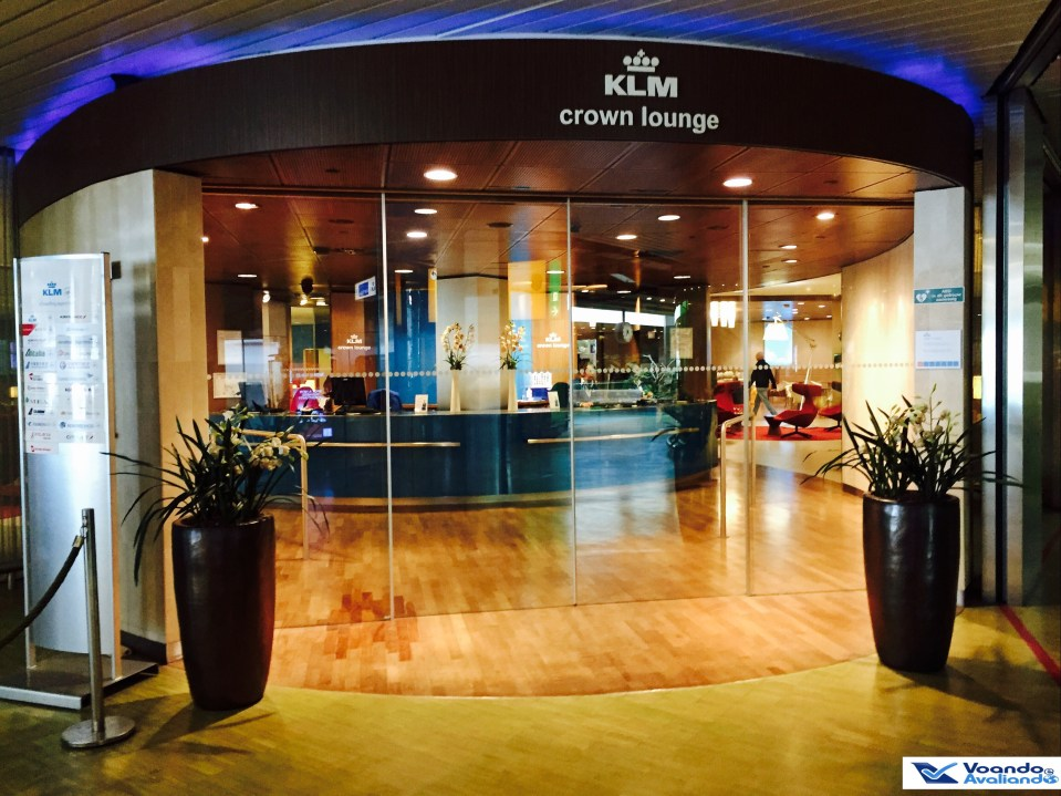 Entrada Crown Lounge - KLM - AMS 2