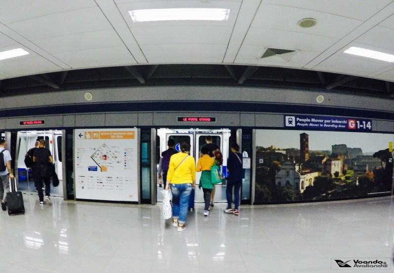 Metrô - Aeroporto de Roma 1
