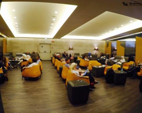 Sala VIP - Alitalia - Visão Geral 3
