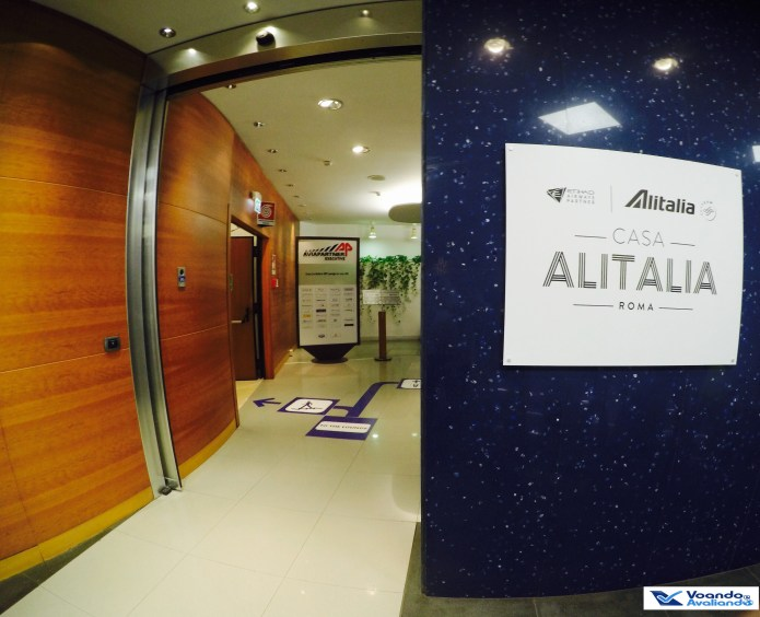 Sala VIP - Alitalia - Entrada