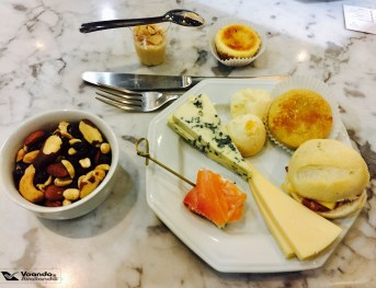 Snacks - Sala VIP LATAM GRU