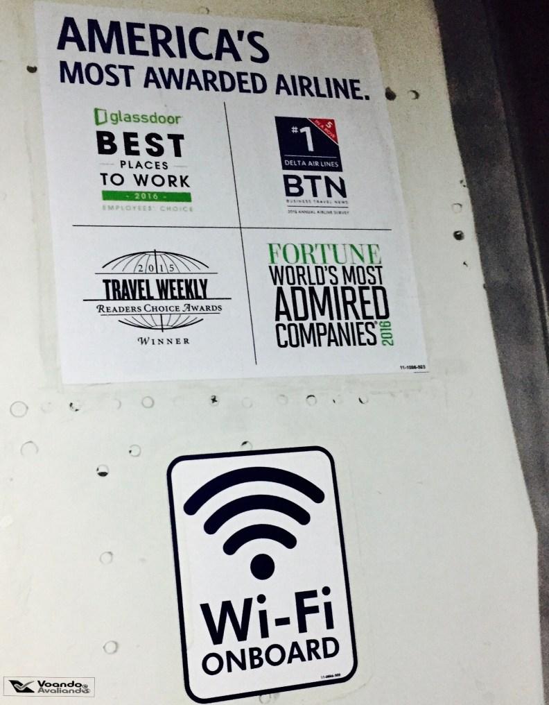 Porta 767 - Delta - Prêmios e wifi