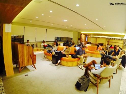 Sala VIP - GOL GRU - Visão Geral 2