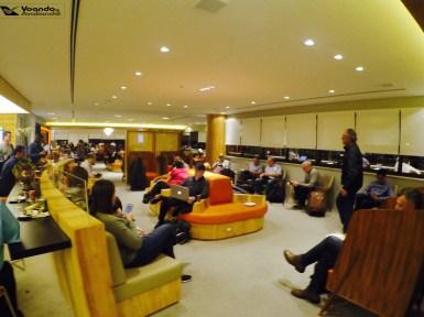 Sala VIP - GOL GRU - Visão Geral 5