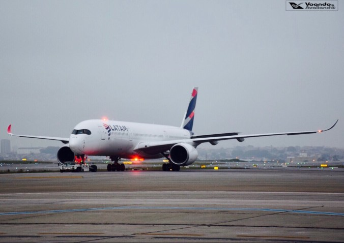 A350 - LATAM - GRU
