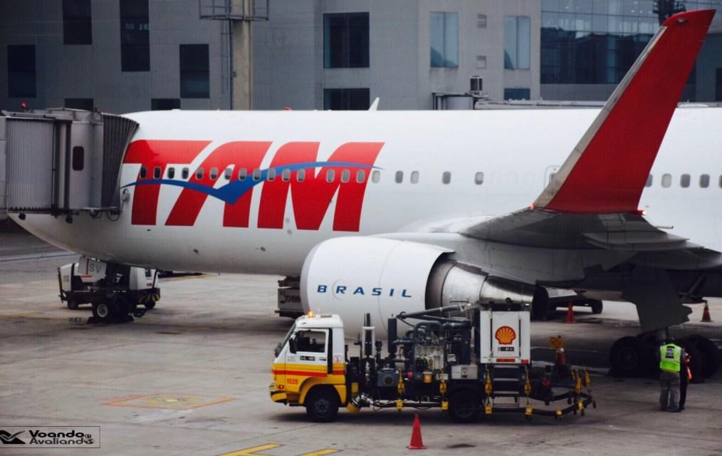 B767 - LATAM - winglet