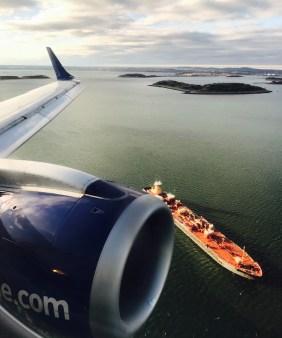 Aproximação Boston - Jetblue 6