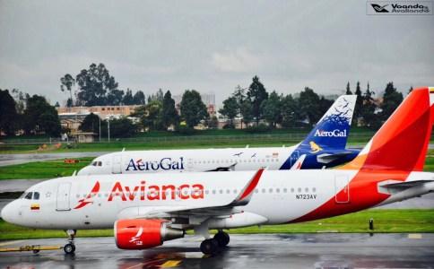 Bogotá - Visão Sala VIP - Avianca e Aerogal