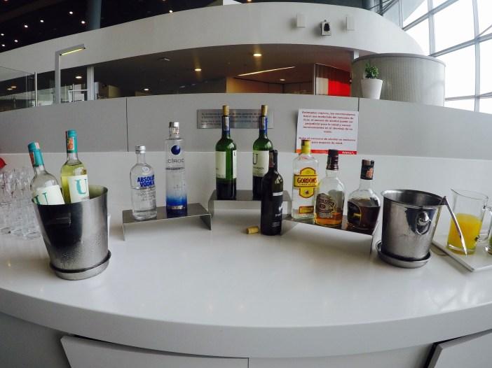 Destilados - Sala VIP Avianca 1