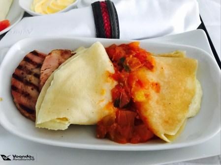 Café da Manhã - Avianca - GRU/JFK - Prato